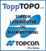 Topptopo måleudstyr, laser og 3d maskinstyring til byggebranchen