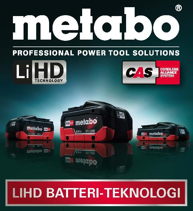 Metabo - Professionelle systemløsninger til bygningshåndværk,samt løsninger til metalhåndværk og industri